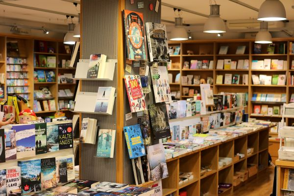 Übernachtung im Buchladen Buxtehude