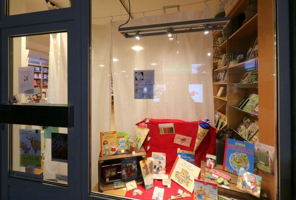 Buxtehude nachts im Buchladen