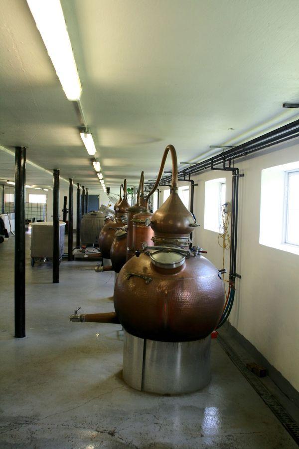 Stauning Whisky Brennblasen
